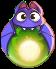 BWS3 Bat Fairy Tale Green bubble
