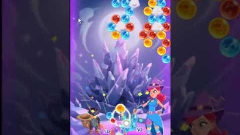 Bubble Witch 3 Saga Level 176 ~ 3 stars ~ no boosters