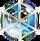 BWS3 Owl Blue bubble under spider web