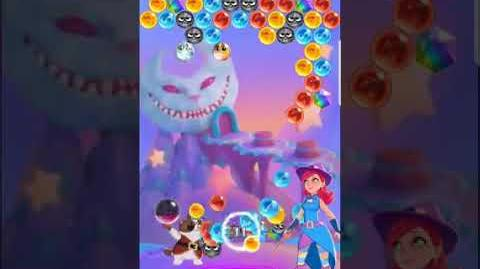 Bubble Witch 3 Saga Level 521 (First Look 👀) Boosters