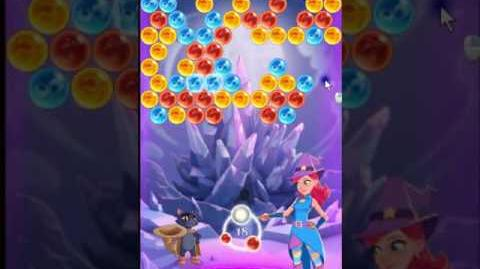 Bubble Witch 3 Saga Level 161 ~ 3 stars ~ no boosters