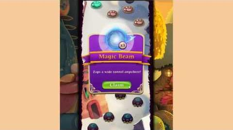 Bubble Witch 3 Saga Level 49 ~ Training Level for Magic Beam Booster