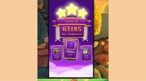 Bubble Witch 3 Saga Level 31 ~ Upgrading Tower and Walkway