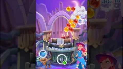 Bubble Witch 3 Saga level 452 ~ First Look (boosters)