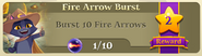 BWS3 Quests Fire Arrow Burst 10