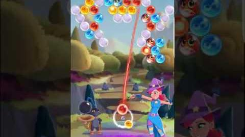 Bubble Witch 3 Saga Level 106 ~ 3 stars ~ no boosters