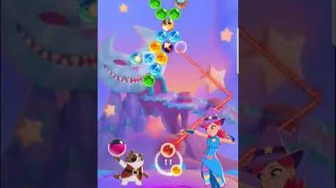 Bubble Witch 3 Saga Level 531 (First Look 👀) Boosters