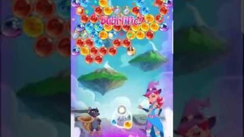 Bubble Witch 3 Saga Level 423 ~ No Boosters ⭐️⭐️⭐️
