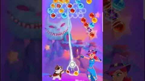 Bubble Witch 3 Saga Level 529 (First Look 👀) Boosters