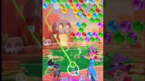 Bubble Witch 3 Saga Level 153 ~ 2 stars ~ no boosters