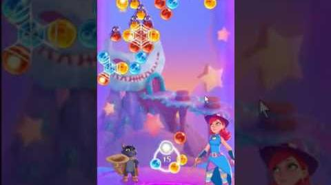 Bubble Witch 3 Saga Level 134 ~ 3 stars ~ no boosters