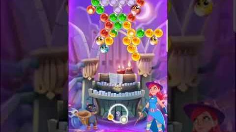 Bubble Witch 3 Saga level 451 ~ First Look (boosters)