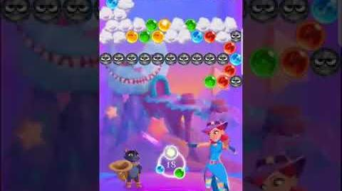 Bubble Witch 3 Saga Level 527 (First Look 👀) Boosters
