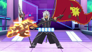 Rouga with Fang Spear Axe, Ogar Demon Slay