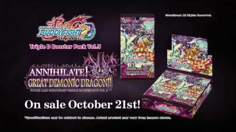 Future Card Buddyfight Triple D D-BT03 Annihilate! Great Demonic Dragon!!-0