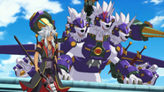 Rouga Aragami and Armorknight Cerberus Ace
