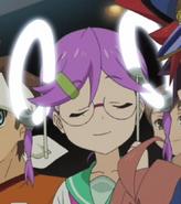 Kuguru's headlights on