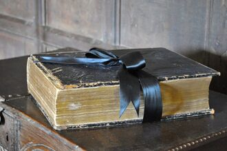 The sacred book by uktara-d499ge8