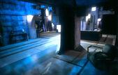 Buffy angel's mansion indoor 3 set design
