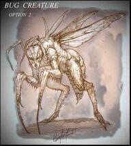 Bug demon behind the scenes 3