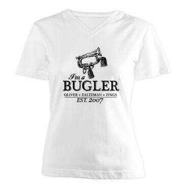 Bugler womens vneck tshirt