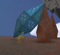 Shape tall hex bipyramid prism
