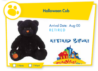 Halloween Cub