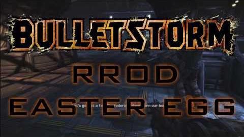 BulletStorm - RROD Easter Egg