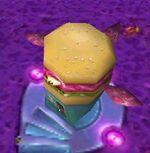 Burger space world