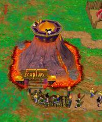 Theme Park World Eruption