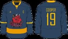 Hockey jersey soda