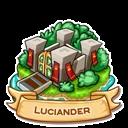 Location luciander icon
