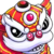 Lunar Cub new year icon