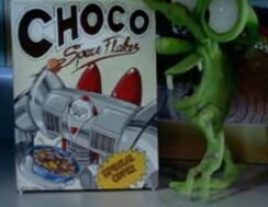 Choco space flakes cereal