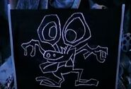 Bumpy chalk sketch