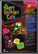Mr Bumpy's Karaoke Cafe VHS AD