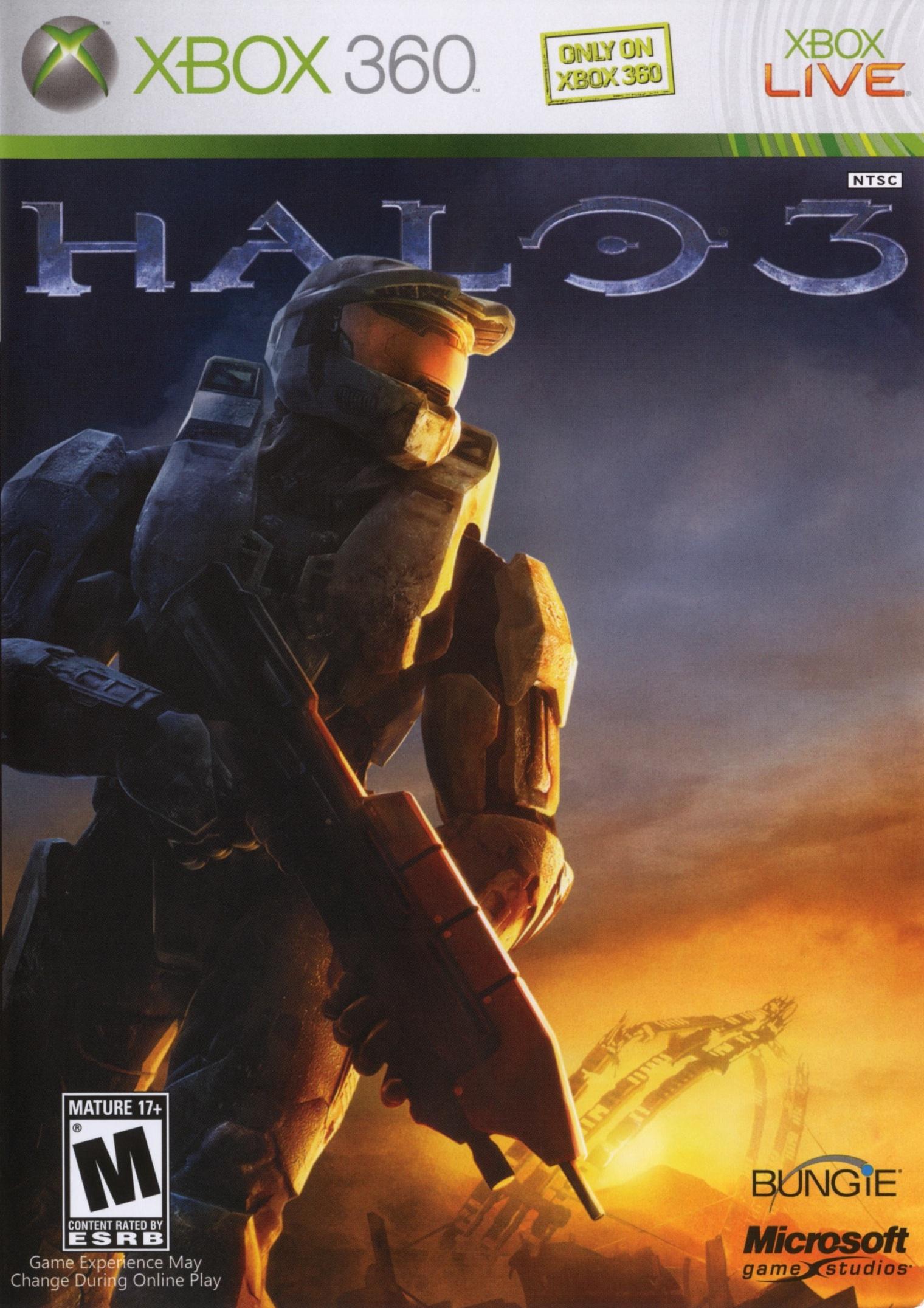 Halo 3 boxart