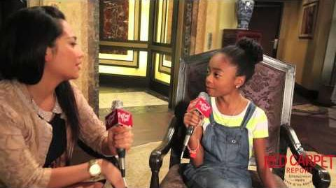 "Skai Jackson at Disney Channel's ""Jessie"" Season Four Press Junket Jessie DisneyChannelPR-0"
