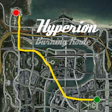 Hyperion Burning Route