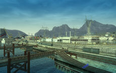 Harbor Town docks (north)