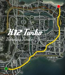 X12 Turbo Burning Route