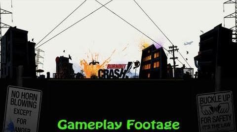 Burnout CRASH! - Gameplay Footage