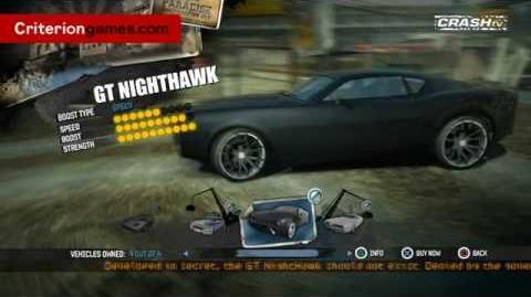 Legendary Cars - 88 Special, Manhattan Spirit, Carson GT Nighthawk, Cavalry Bootlegger - Burnout Paradise CRash TV 20