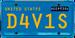 Nighthawk License Plate