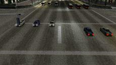 Crash zone 12 - Glass Canyon - intersection