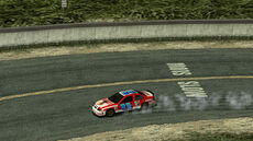B2 Oval Racer oncoming drift