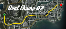 Oval Champ 07 Burning Route