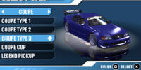 Coupe Type 3 (Burnout Legends)