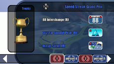 Custom Series Championship stage 01 - Speed Streak Grand Prix - B2 menu