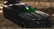 Black Elite Racer